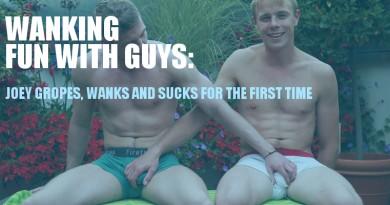straight guys wanking and sucking