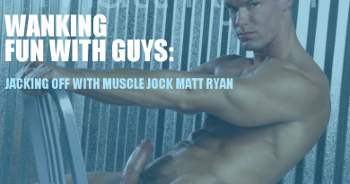 JACKING OFF WITH MUSCLE JOCK MATT RYAN