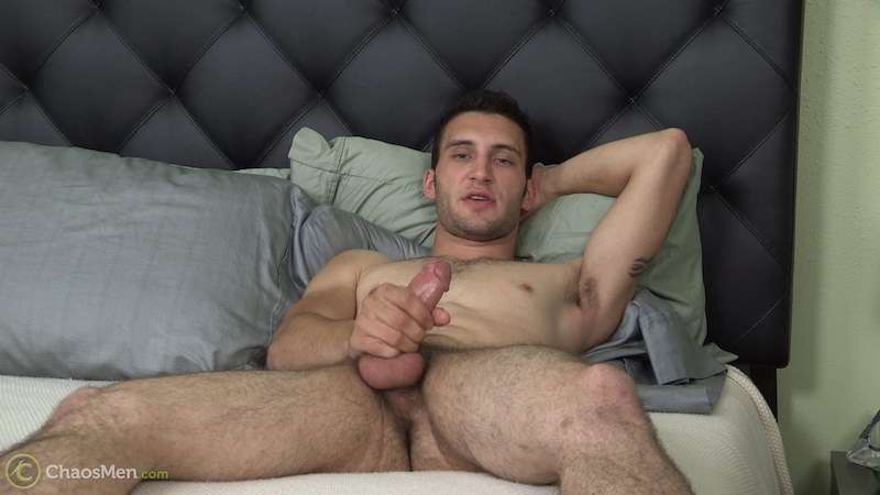 Straight guy wank - Lambert 4