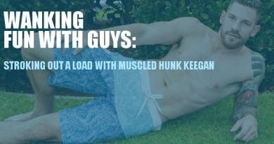 Keegan looks like the ideal wank mate