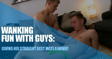 straight wank mates Leo Howard and Aiden Walsh at Englislads