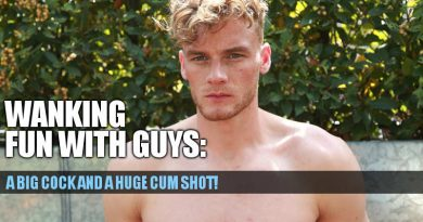HUNG STRAIGHT GUY NOAH MILLER AND HIS HUGE CUM SHOT