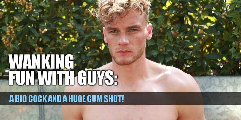 HUNG STRAIGHT GUY NOAH MILLER AND HIS HUGE CUM SHOT