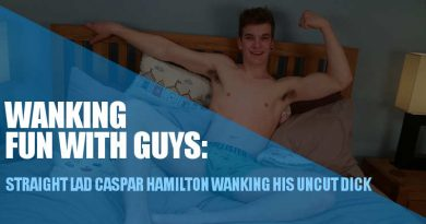 straight guy wanking for dudes caspar hamilton