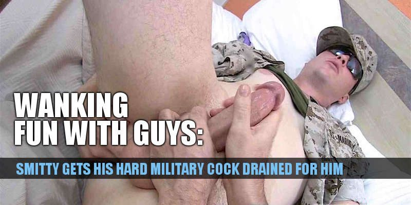 MILITARY COCK HAND JOB STRAIGHTOFFBASE
