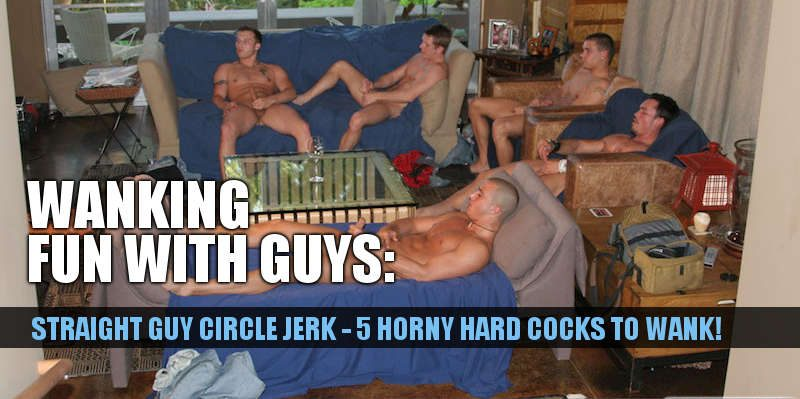STRAIGHT GUY CIRCLE JERK VIDEO