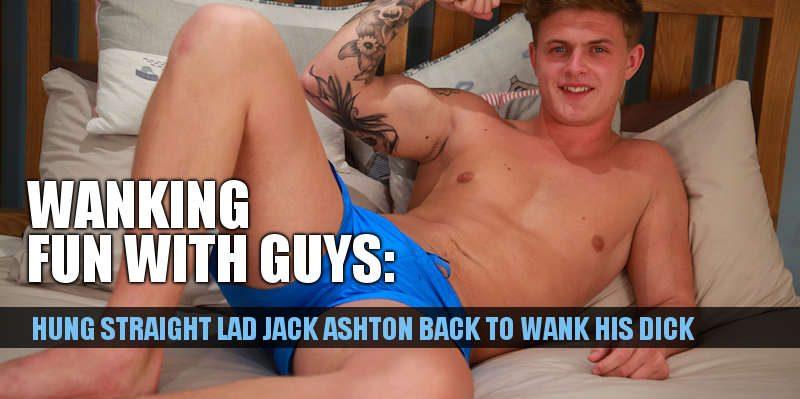 JACK ASHTON WANKING BIG UNCUT COCK ENGLISHLADS