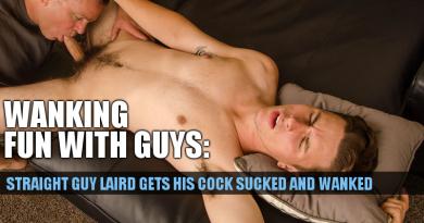 straight guy sucked