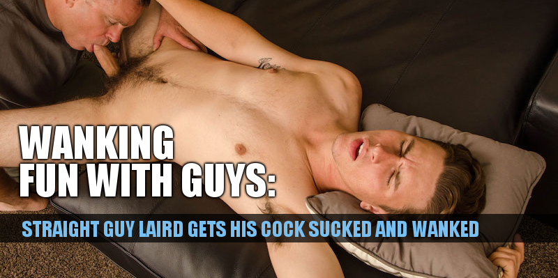 straight guy sucked