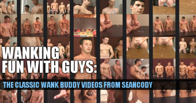 Wank buddy videos from Seancody
