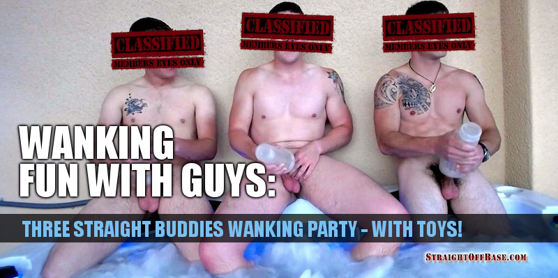 military wank party