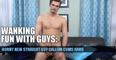STRAIGHT GUY JACK OFF VIDEO CALLUM AT CHAOSMEN