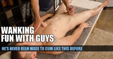 straight guys happy ending massage