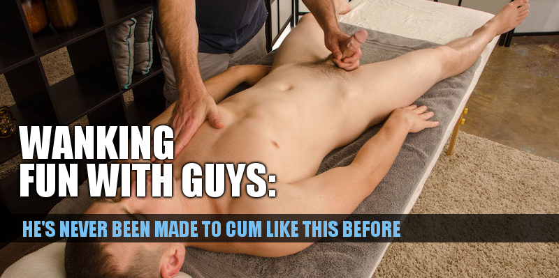 straight guys happy ending massage