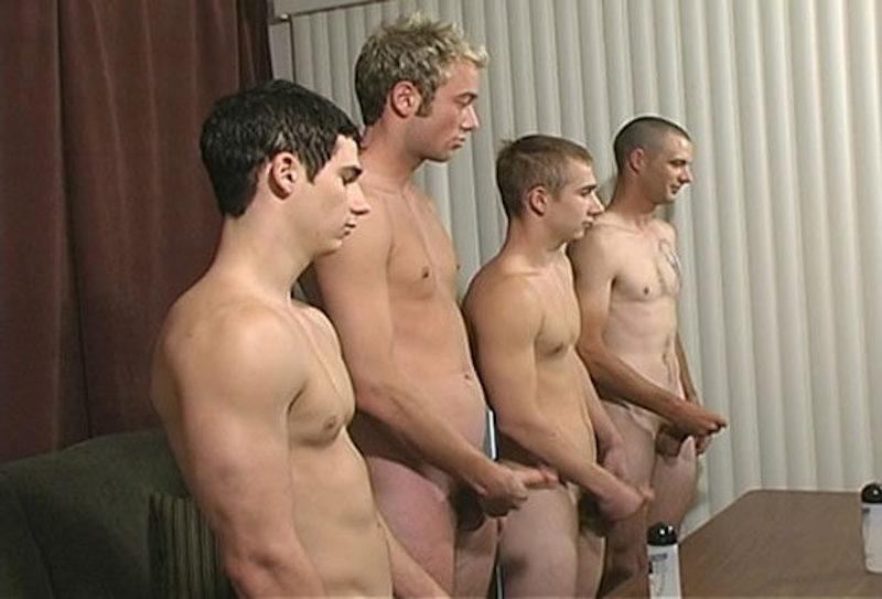 straight guys jerk off contest