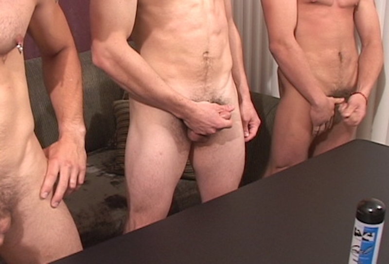 guys jerking off together on video