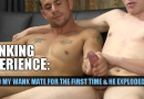 Edged my mates cock for the first time and it was great