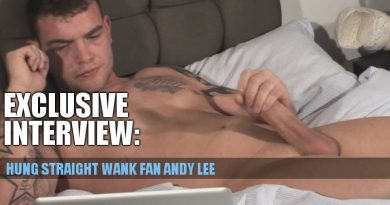 Exclusive: Interviewing Hung Stud Andy Lee!