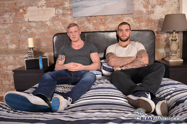 Wanking Mates Andy Lee and Liam Lawrence