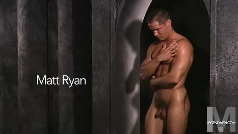 Jock jack off with Matt Ryan 1