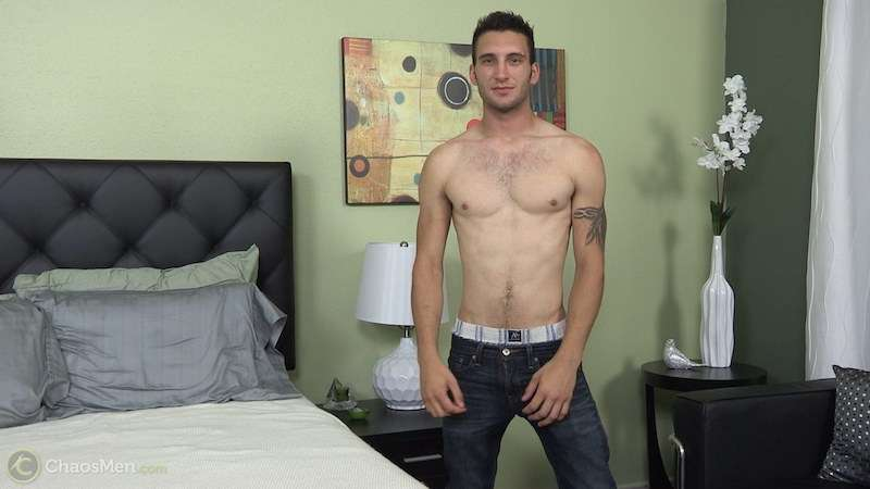 Straight guy wank - Lambert 2
