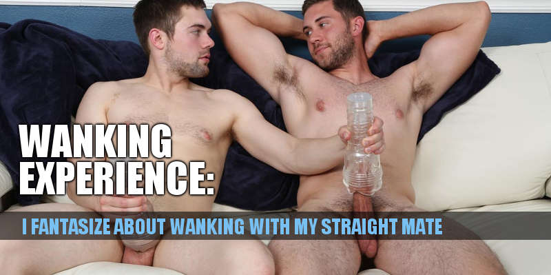 I Really Want To Wank With My Straight Mate-4858
