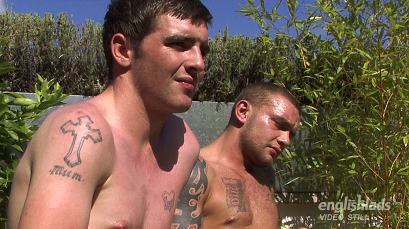 Watch hung Andy Lee wanking with his brother and cumming hard 12