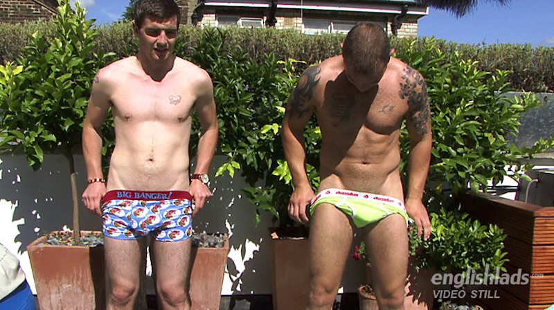 Watch hung Andy Lee wanking with his brother and cumming hard 7