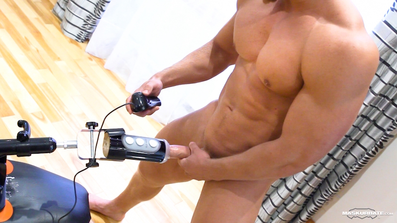 hung-muscle-man-brad-fucks-tenga-flip-hole 10