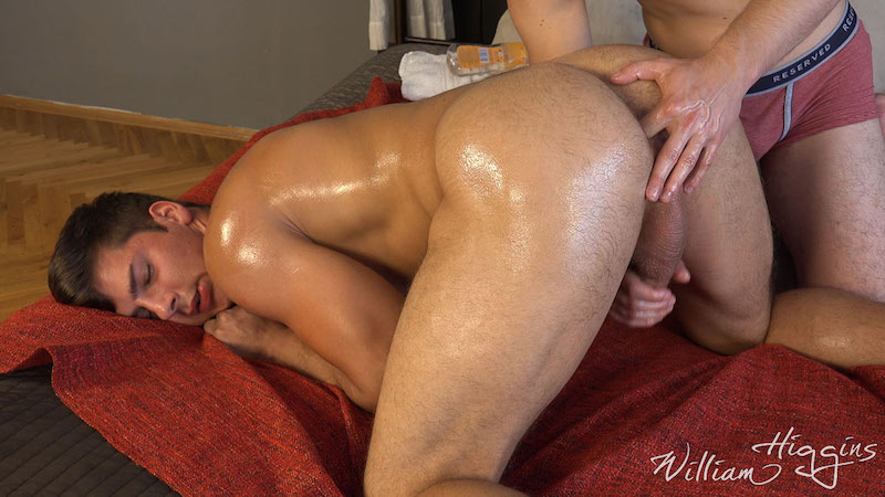 Fit lad Martin Gajda gets his cum wanked out of his uncut cock 7