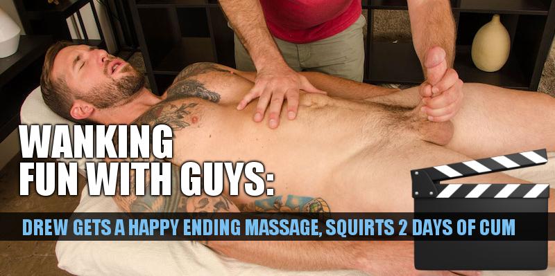 guy gets happy ending massage