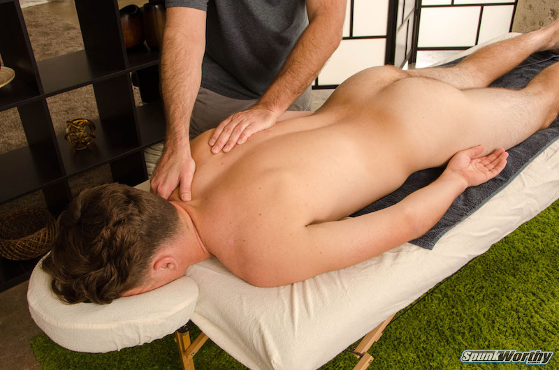 Straight guys gay massage