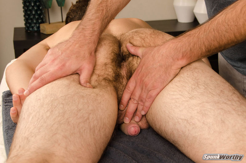 Straight guy being groped by a man