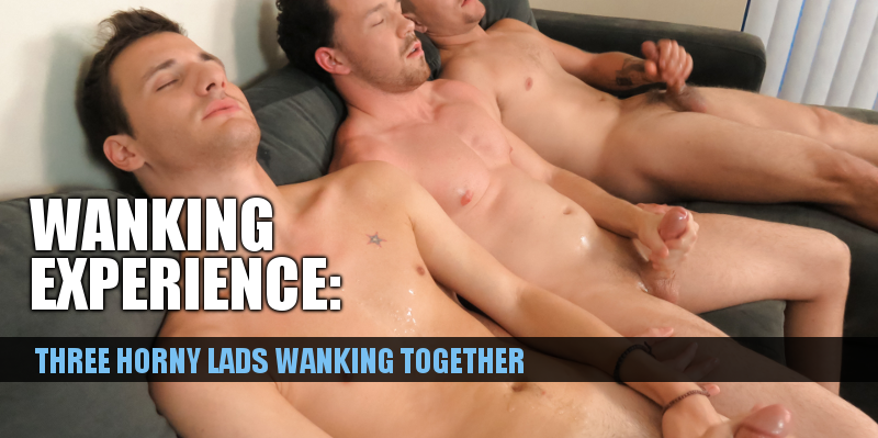 Wanking with mates