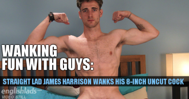 James Harrison wanking video at Englishlads