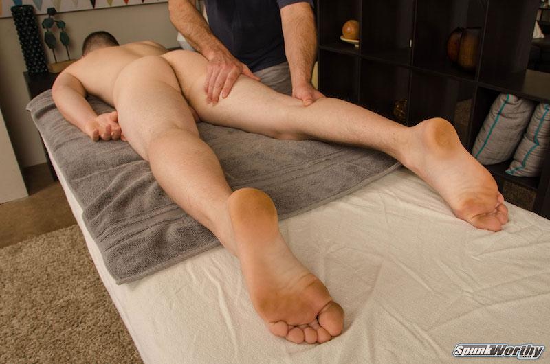 straight jock massage