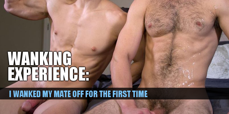 First time wanking