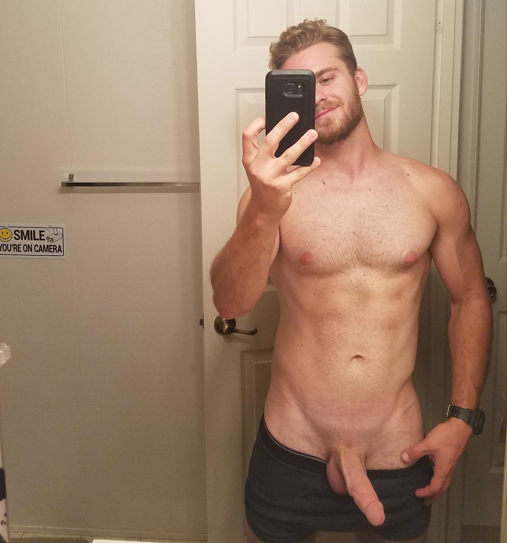jock cock selfie