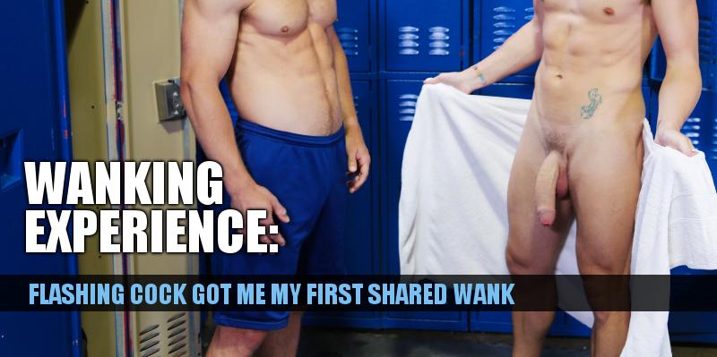 guys flashing cock in the gym locker room