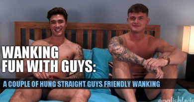 Casias Bradley and Jack Ashton jerking off together at English Lads