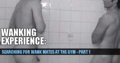 new wank mate at the gym