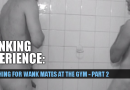 Wanking with a new guy from the gym