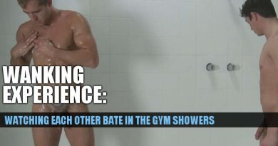 bating together in the gym showers