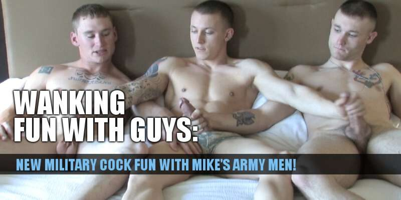 Military cock with Mike's Army Men