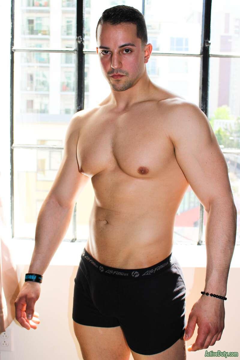 Masculine muscular hairy bear men-4322