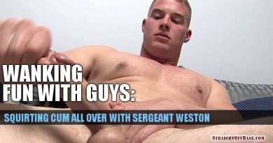 military jerk off video sergeant weston