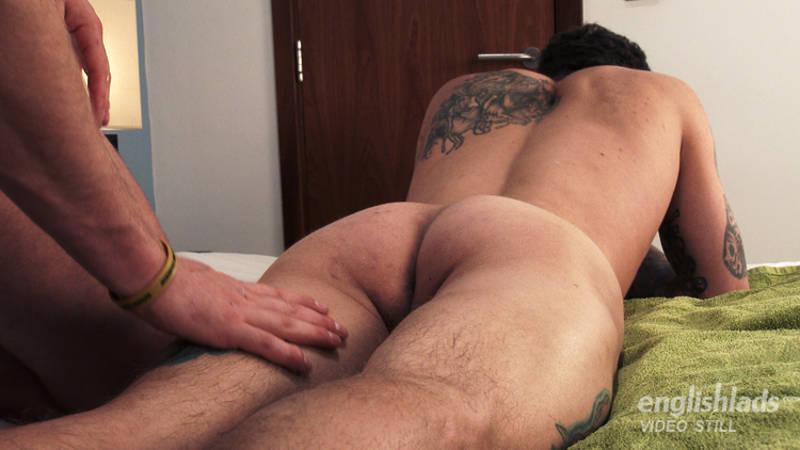 straight guy ass massage