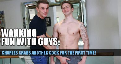 CLICK FOR MORE OF THESE TWO STRAIGHT GUYS JACKING EACH OTHER