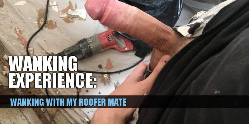 click to read about tradies wanking together