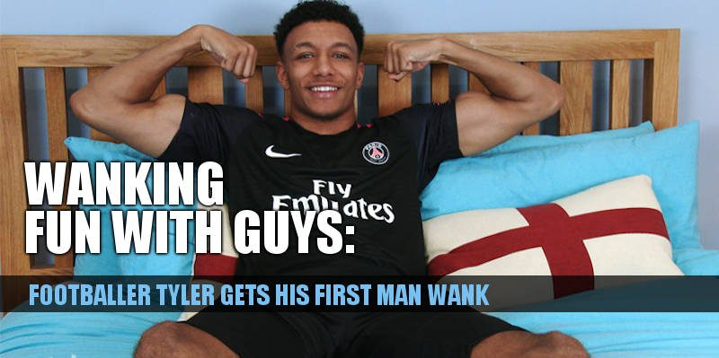 click to see straight footballer tyler in a massage and wank